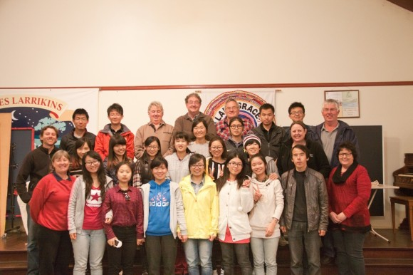2014 uni student visit